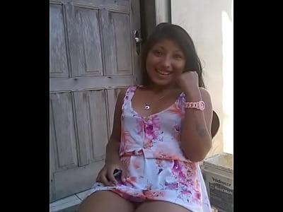 Novinha Morena Rabuda Dando Xoxota
