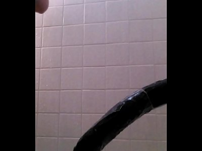 Fucking a Brutal Dildo and Squirting