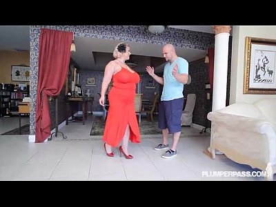 Boobs Busty Mature video: Mature BBW Slut Samantha 38G Gives Fucking Lessons to Stud