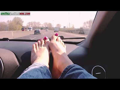 Car Domination Female video: Travelling With Lisa - Part 1