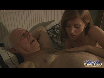 Russian Blonde Grandpa video: 75 old grandpa sex blessed by Russian hottie blonde
