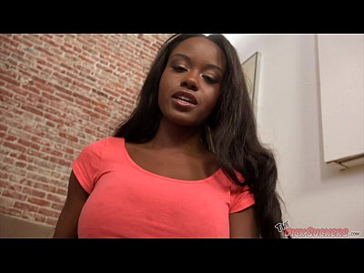 Black Ebony Blowjob video: Big Tits Ebony Jezabel Vessir Sucks!