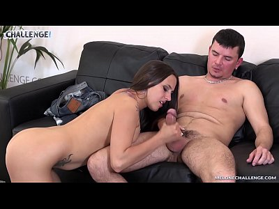 Hardcore Czech Pornstar video: Melonechallenge Small challenger surprised Mea Melone when fuck awesome