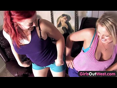 Australian Babe Bush video: Girls Out West - Buxom hairy and shaved lesbian girls