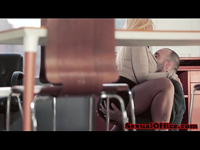 Beauty Bigtits Blonde video: Busty european secretary shows her creampie