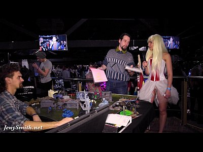 Public Ass Heels video: Jeny Smith at cosplay event