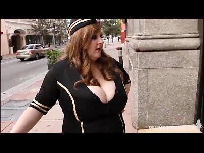 Boobs Chubby Curvy video: BBW Legend Sapphire Takes Ramons Huge Cock