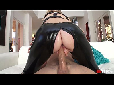 Hardcore Footjob Pussy video: Mona Wales Clad IN Leather Masturbates and fucks