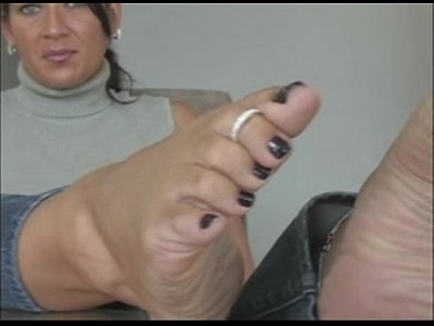 Pov Mature porno: Wrinkle Sole Perfection