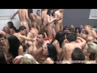 Monster Orgy More than 100 People in one Room