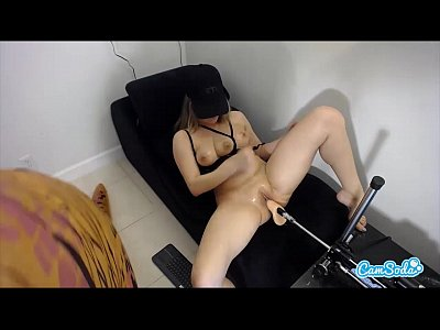Babes Tits Boobs vid: Veronica Rodriguez squirting on a TREX and 3 TIT latina fuckbots to orgasm