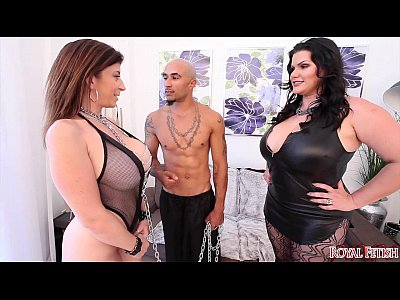 Fetish Blowjob Threesome vid: King and Angelina Castro Dominate Sara Jay BBW THREESOME