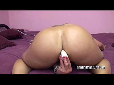Amateur Analtoys Ass video: Horny housewife Skylar Rae pounds her ass with a toy