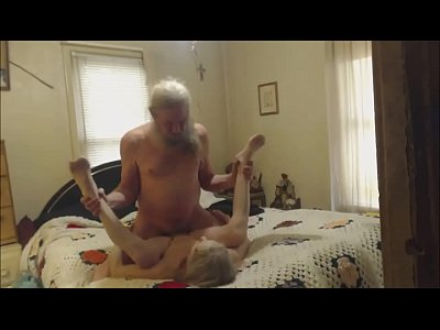 Naughty Homemade Sextape video: Grandma and Grandpa having sex cam