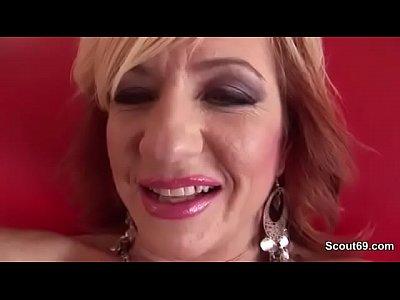 Hardcore Lingerie Granny video: German Grandma get hardcore fucked with Loverboy