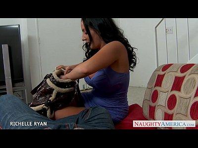 Blowjob Pornstar Brunette video: Busty Richelle Ryan suck and fuck cock in POV