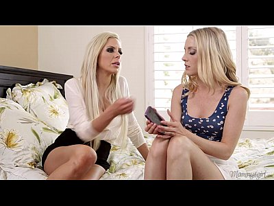 Fingering Girlongirl Kissing video: Busty Mommy Nina Elle and Karla Kush