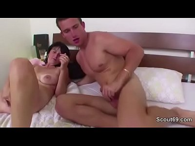 image 48yr old stepmom caught german stepson