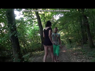 Brunette Heels Masturbation video: Married couple oral and sex games on the desolate path