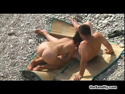 Babes Beach Blowjob video: theSandfly Horny Beach Sights!