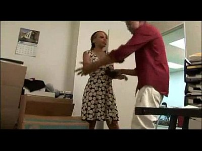 Ebony Blowjob Skinny video: ebony quick office blow and go