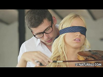 Facials Blonde Blowjob video: Kiara Lord - Strings of Passion