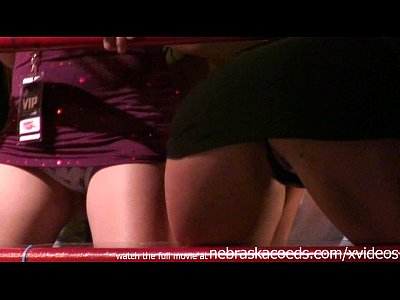 Exgirlfriend Firsttime Flashing video: upskirt panty flashing college party girls on spring break