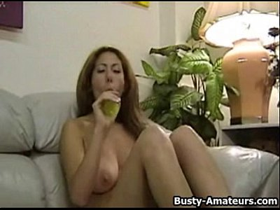 Bigtits Boobs Bustyamateurs video: Busty amateur Lilliana jerksoff on her first scene