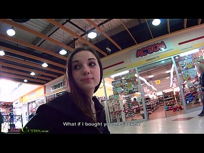 Amateur Czech video: MallCuties teen - young public girl, czech teen girl