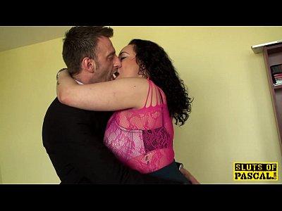Bdsm Milf Chubby video: Chubby british sub drilled hard by maledom