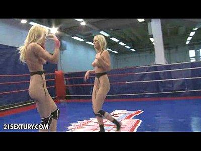 Fight Fingering Licking video: NudeFightClub presents Antonya vs Sophie Moone