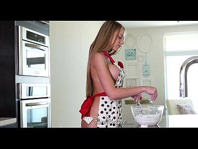 PureMature - MILF Shawna Lenee fucks after some naked baking