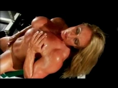 Lesbians Muscled video: Big Clit Bodybuilder #13 - Lez