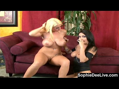 Bigtits Boobs British video: Slutty Girl Talk with Sophie Dee