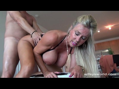 Wifey Swallows A Strangers Cum