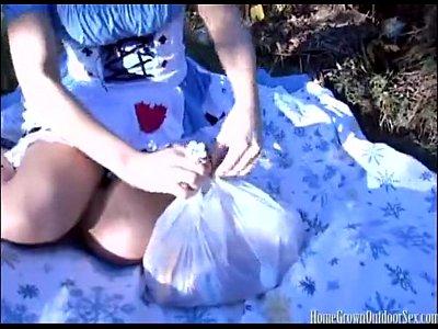 Alice in wonderland homemade