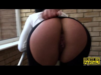 Bdsm Spanking Outdoor video: Alternative brit submissive facialized