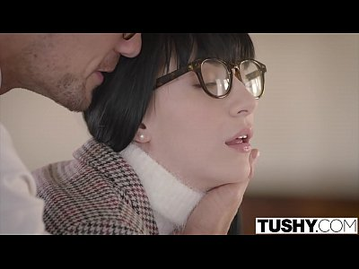 Gaping Blowjob Facial video: TUSHY Anal Discipline with My Tutor