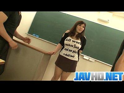[ポチャ]漣ゆめさんが教室で性教育!ぽっちゃり学園動画です。
