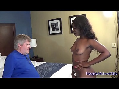 Blowjob Fucking Skyler video: Skyler Nicole - Ebony Cutie Fucks Not Her Stepdad