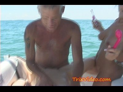 Milf and Teen daughter FUCKED fishing