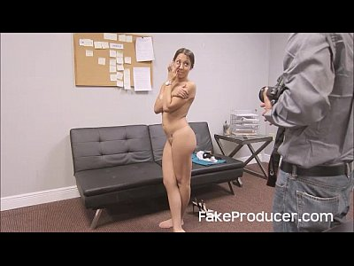 Audition Blowjob Casting video: FakeProducer Tricks Petite Latina Into A Blowjob During Casting Audition