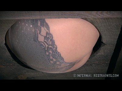 Dragontail Fingering Fire video: Foot Torment for a Pale Blonde