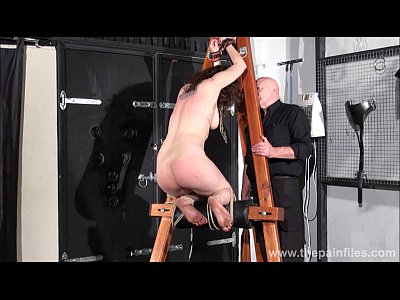 Bdsm Beauvoirs Bondage video: Spanked amateur slavegirl Beauvoirs hellpain whipping and strict dungeon bondage