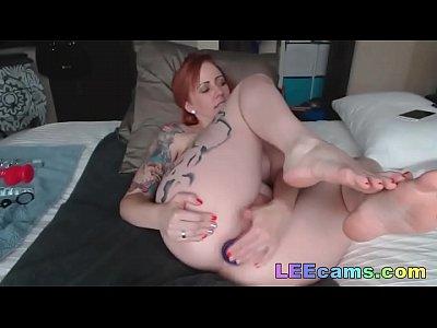 redhead milf dildo anale