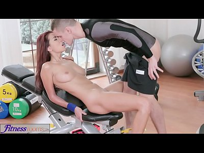 Asians Babes Czech video: Fitness Rooms Asian beauty takes trainer's hard cock in her dripping pussy