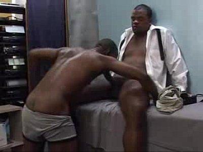 Xxx Para Gay Cena entre negros