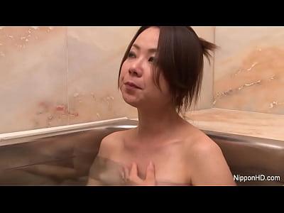 アジア女の子指彼女猫