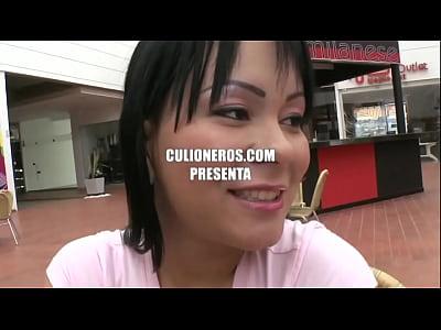 Hermosa colombiana folla con un desconocido - F...