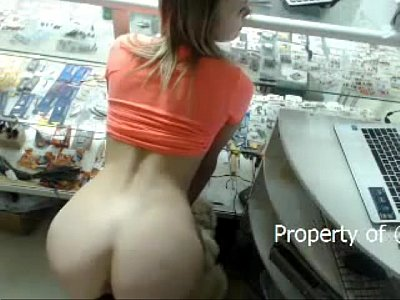Girls masturbating at work